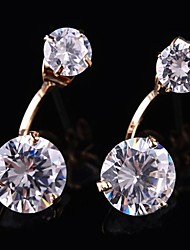 Noble Shining Diamante Earrings (More Colors)