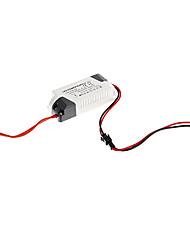 0.3a 8-12w dc 20-40v à courant constant externe alimentation conducteur de courant alternatif pour lampe de LED