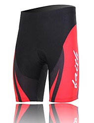 XINTOWN Unisex The High Quality Terylene Lightweight Cycling Pants—Black+Red