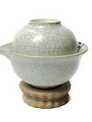 Chinese Style Crackle Pattern Tea Set,1 pc Teapot,1 pc Tea Cup