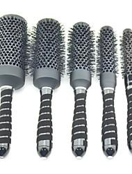 Hair Salon Equipment Ceramic Brush High Temperature Resistant HighTemperature Change Color