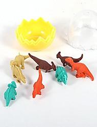 creativo guscio d'uovo mini gomma dinosauro