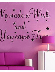 JiuBai™  Nusery Quote Home Decoration Wall Sticker Wall Decal