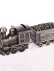 Personalized  Ring Bearer Alloy Ashbury Metal Train Piggy Bank