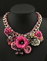 Women's Luxury Colorful Gemstone Necklace