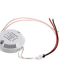 0.3a 8-12w dc 20-40v de circulaire externe courant constant alimentation conducteur de courant alternatif pour plafonnier conduit