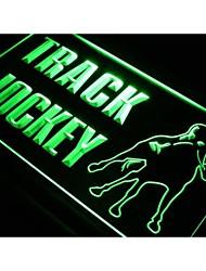 j363 Jockey Track Horse Ride Gift Neon Light Sign