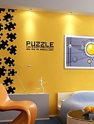 Wall Stickers Wall Decals, Modern puzzle PVC Wall Stickers