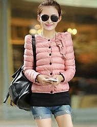 Women's Korean Style Slim Thick Down Jacket Coat