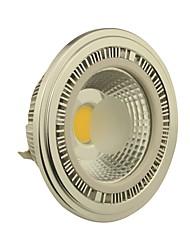 10W G53 Focos LED AR111 1 COB 1000-1100LM lm Blanco Cálido DC 12 / AC 12 V