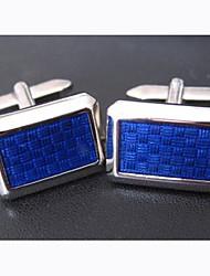 sposo / Groomsman royal blu gemelli in ottone