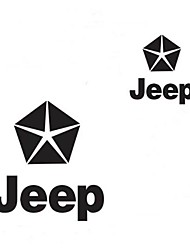 World War 2 The Five-star Flag Pentagram Car Stickers (S=14x13cm)