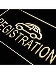 i475 Autokennzeichen Auto Service-Neonlicht-Zeichen
