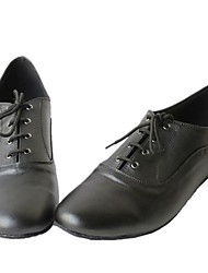 Men's Leather Upper Lace-up Modern Shoes Boots