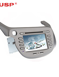 "cuspide ® 7 ""2 din tft lettore DVD dell'automobile per il 2007 Honda Fit / Jazz con bluetooth, gps, ipod, rds, atv, can-bus"