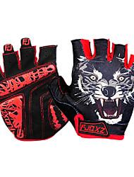 Sports Gloves Cycling Gloves Bike Fingerless Gloves Men's Anti-skidding / Wearproof / Shockproof / BreathableSpring / Summer /