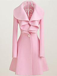Women's Coats & Jackets , Fur Casual YZIS
