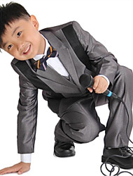 Boy's Polyester/Viscose Suit & Blazer , All Seasons Long Sleeve