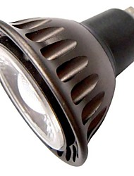 3W GU10 LED Spotlight MR16 1 COB 240 lm Warm White Decorative AC 85-265 V