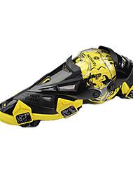 scoyco k12 мотоцикл гонки на лошадях наколенники защитные колено желтый
