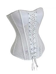 rendas desossa de plástico casual / shapewear ocasião especial corset (mais cores) sexy lingerie shaper