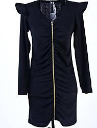 Women's Long Sleeve Dress Dress