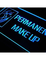j686 Permanent Make Up Beauty Salon Neon Light Sign