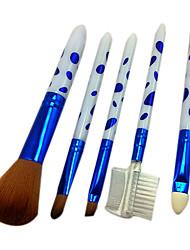 5 Makeup Brushes Set Nylon / Others Face / Lip / Eye Others