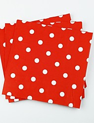 Baby Shower Dot Design Party Napkin -Set Of 18 (More Color)