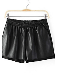 Women's Leather Pants Shorts