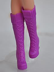 barbie pop pure kleur hoge hakken laarzen