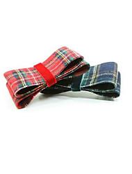 europei fasce di stile di bowknot barrettes colore casuale