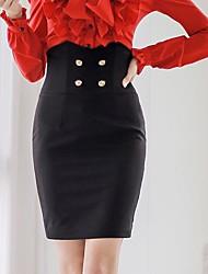 Pink Doll® Women's Elegant OL Hjgh Waist Bodycon Skirt