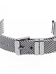Unisex Thick Mesh Steel Watch Band Strap 110MMx18MMx3MM