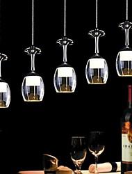LightMyself® Modern Restaurant Pendant Light 5 Lights Acrylic 85V-240V