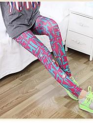 Leggingsit - Nylon , Print