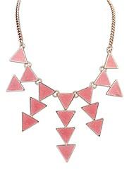 Sybal Women's Vintage Punk Geometrical Necklace