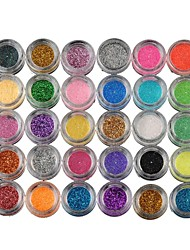30 Lidschattenpalette Lidschatten-Palette Puder Normal Party Make-up
