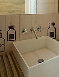 стены стикеры наклейки для стен, современные функциональные ванная наклейки идентификация пвх стеновые