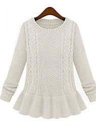 MiLi Vintage Round Collar Knitwear Sweater _11