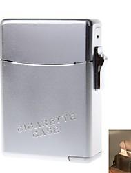 Zinc Alloy Lighter Suit (Cigarette Case + Lighters)