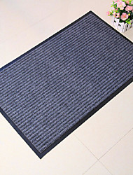 Bath Rug 1-Piece Set Modern Solid  Color Rectangle Print - 4 Colours Available