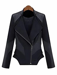 LIRONG Cotton Slim Jacket(Black)