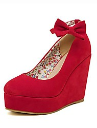 Women's Shoes Wedges Wedge Heel Suede Pumps Shoes More Colors available