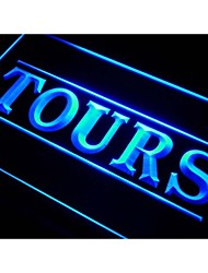i282 Tours Service Travel Agency Neon Light Sign