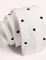 sktejoan® moda masculina de malha gravata estreita (largura: 5cm)