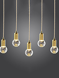 3 Pendant Light ,  Modern/Contemporary Vintage Gold Feature for LED Mini Style MetalLiving Room Bedroom Dining Room Study Room/Office