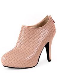 zapatos de las mujeres del dedo del pie en punta botas de plataforma tacón de aguja más colores disponibles