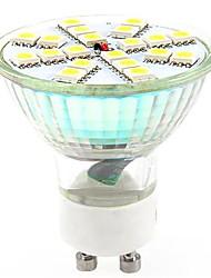 GU10 3w 20x5050smd 270lm fraîche lumière blanche / chaude conduit ampoule spot (AC 220-240V)