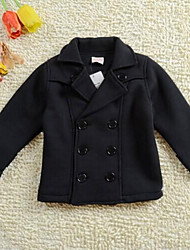 Boy's Double-Breasted Suit Jacket Motorcycle Tong-Sleeved Clothing